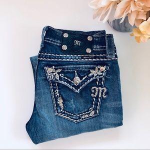 Miss Me Distressed 27x31.5 Skinny Jeans